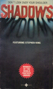 Shadows (1978) edited by  Charles L. Grant
